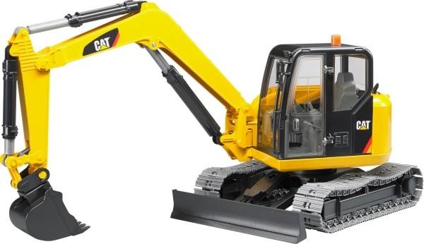 Bruder 02456 CAT Catterpillar Minibagger Maßstab 1:16