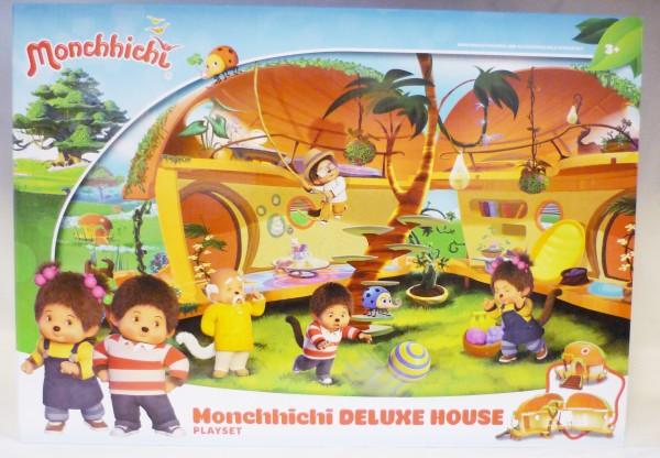 Monchhichi Deluxe Haus 81520 Spielset 43x30cm aufklappbar