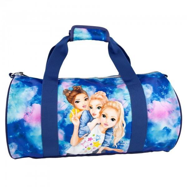 Depesche 10757 TOPModel Sporttasche Fergie, Christy, Candy aquarell blau