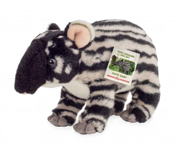 Teddy Hermann 92332 Tapir Baby Plüsch Kuscheltier ca 24 cm