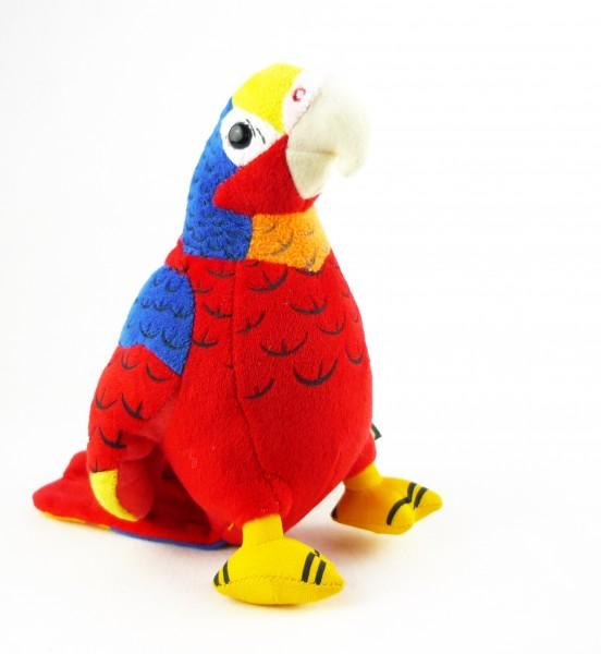 Heunec 285576 Softissimo Papagei ca. 20cm Plüsch Kuscheltier