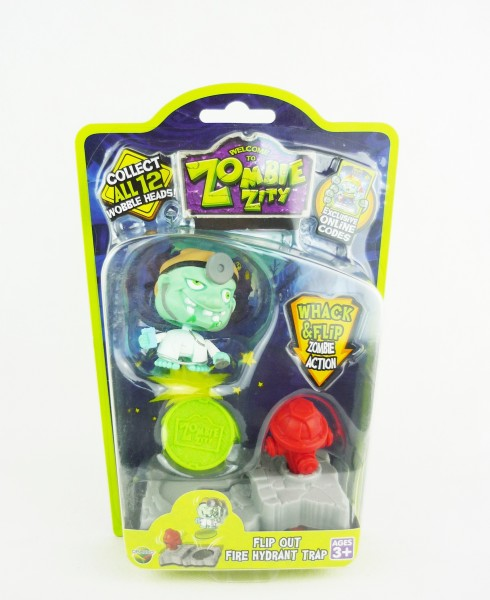 Zombie Zity Sammelfigur Flip Out Fire Hydrant Trap - Arzt
