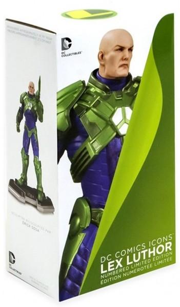 DC Comics Icons Lex Luthor Limited Edition Statue ca 27cm Sammelfigur