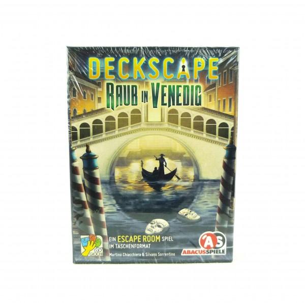 Deckscape - Escape Room im Taschenformat - Raub in Venedig