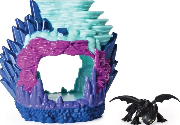 Dreamworks Dragons Hidden World Playset Drachenzähmen - Toothless