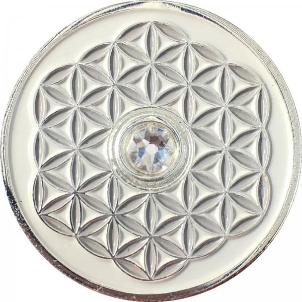 Berk Innere Welten EN-730-5 Taler Blume des Lebens - Viel Glück!