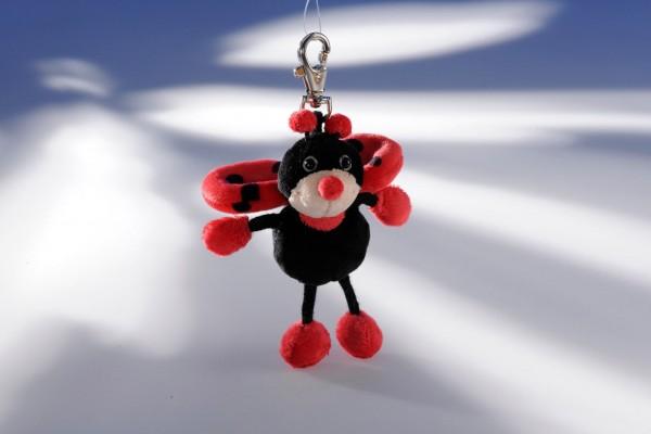 Schaffer 0183 Marienkäfer Happy Spotty Schlüsselanhänger Plüsch ca 12cm