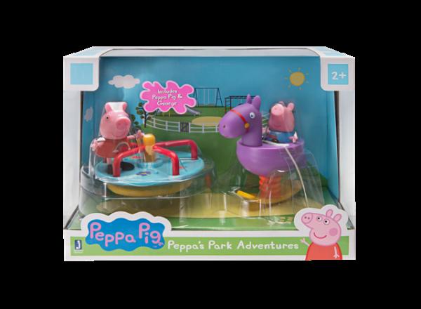 Peppa Pig Wutz Peppa´s Abenteuer im Park Spielset Jazwares PEP0491