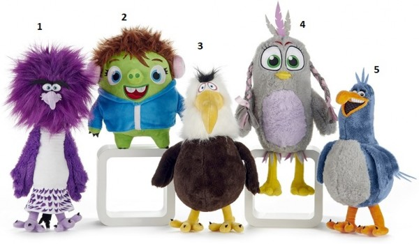 Angry Birds Friends Freunde Plüsch ca. 22cm grüner Vogel - Courtney (2)