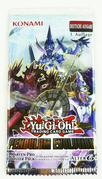 Yu-Gi-Oh Trading Card Pendulum Evolution Booster Pack 1. Auflage deutsch