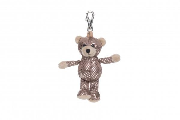 Schaffer 2704 Schlüsselanhänger Anhänger Glitz & Glamour Bär Teddy ca 12cm