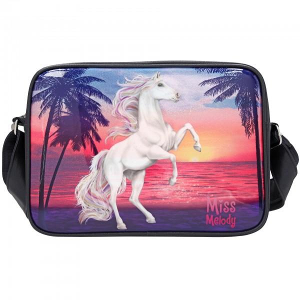 Depesche 10588 Pferd Miss Melody Umhängetasche Glitter Ocean
