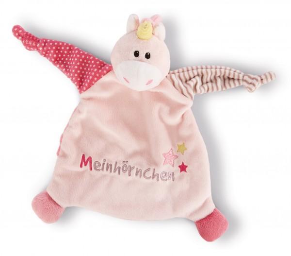 """My first Nici 43658 Schmusetuch Einhorn Stupsi """"Meinhörnchen"""" Plüsch ca 25x25cm"""