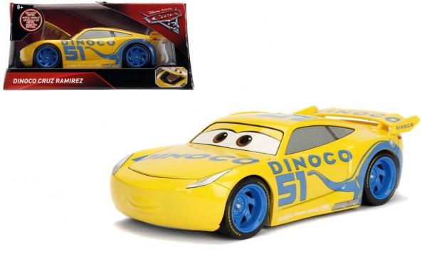 Jazwares 98326 Disney Cars 3 Dinoco Cruz Ramirez Die-Cast Metal 1:24 Sammelfigur