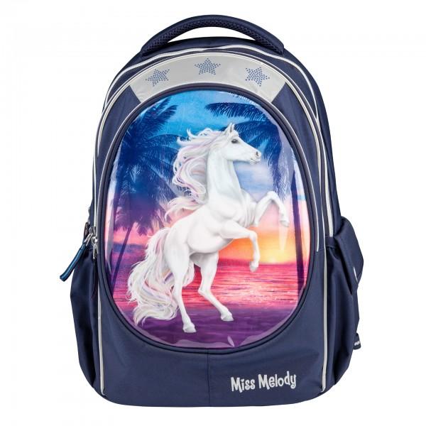 Depesche 10990 Pferd Miss Melody Schulrucksack Rucksack Glitter Ocean