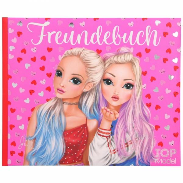 Depesche 11035 TOPModel Freundebuch Jill & June Herzen Love