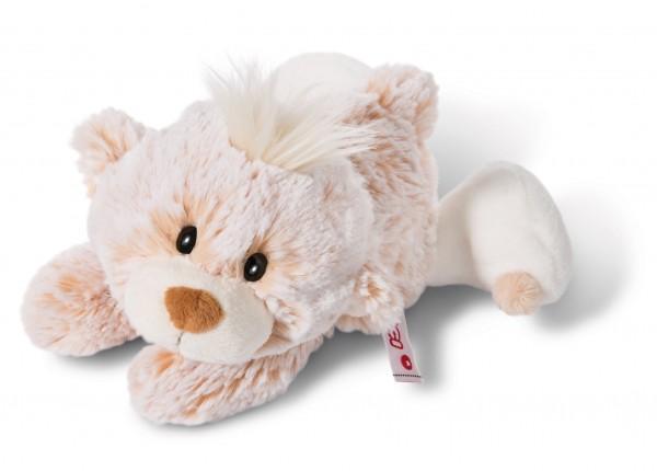 Nici 44476 Baby-Bär Classic Bear Bär liegend ca 20cm Plüsch Kuscheltier