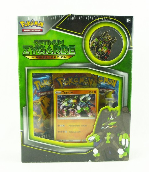 Pokémon Pin-Kollektion Optimum Zygarde Sammelkartenspiel