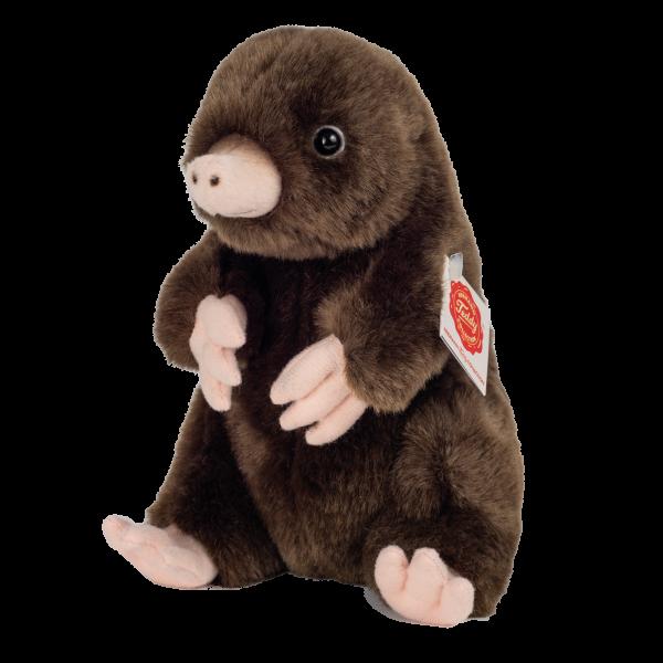 Teddy Hermann 92653 Maulwurf sitzend Plüsch Kuscheltier ca 19 cm