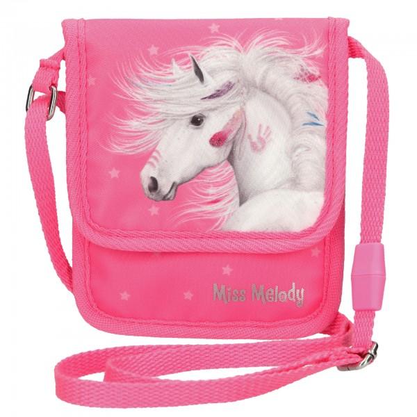 Depesche 10609 Pferd Miss Melody Brustbeutel Geldbeutel pink