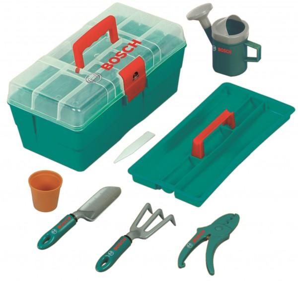 Bosch Mini Gartenbox für Kinder 8-teilig mit großer Box 2791