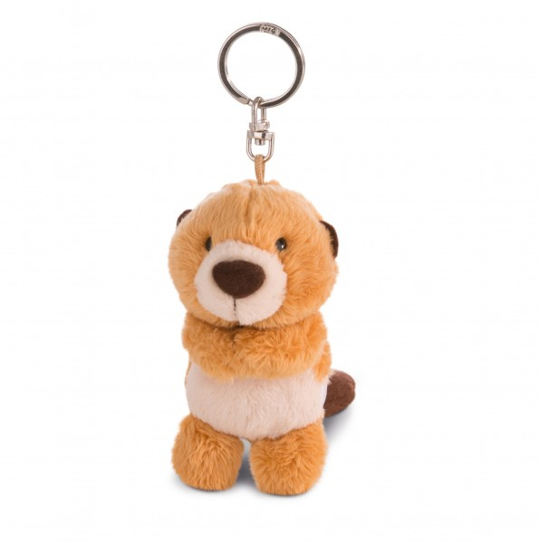 Nici 41890 Schlüsselanhänger Biber Willi Woodfeller 10cm Plüsch Bean Bag