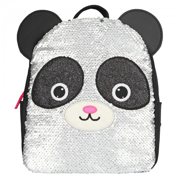 Depesche 10794 Snukis Rucksack Panda mit StreichPailletten