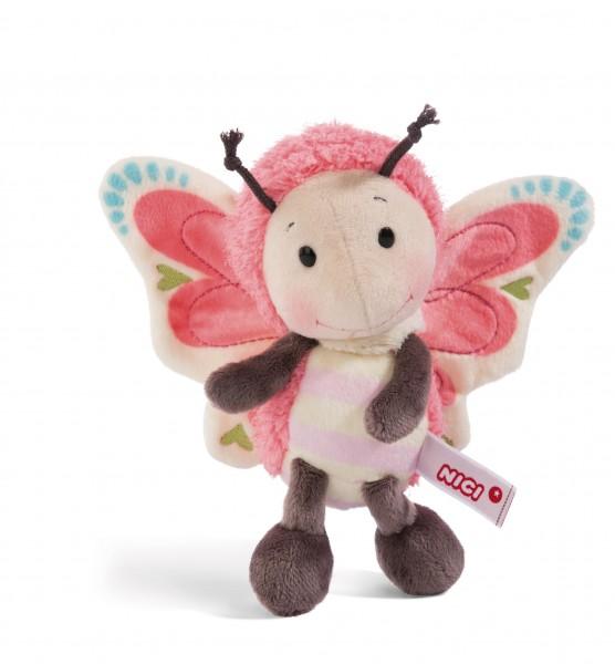 Nici 44933 rosa Schmetterling ca 25cm Plüsch Kuscheltier Hello Spring