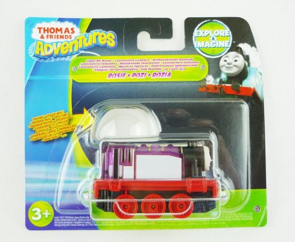 Thomas & Friends Adventures Eisenbahn Rennlok + Licht Rosie DXV22