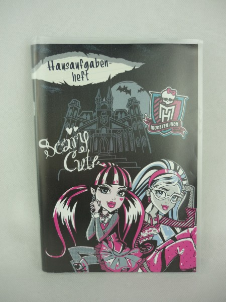 Hausaufgabenheft Monster High Scary Crete A5 Undercover