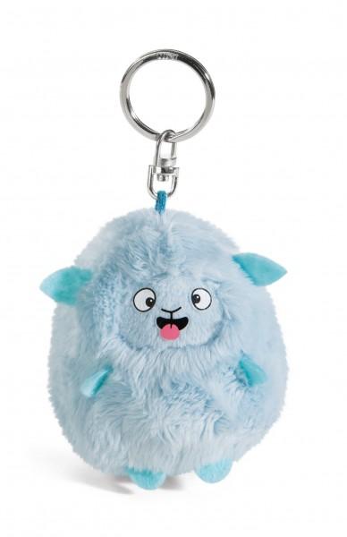 Nici 41178 Schlüsselanhänger Mops & Mows Cheeky blau ca 7cm Plüsch