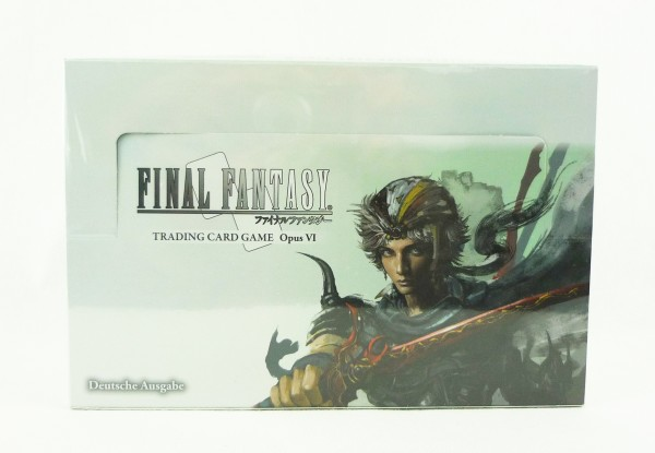 Final Fantasy Opus VI / 6 Trading Card Game 36x Booster Pack deutsch