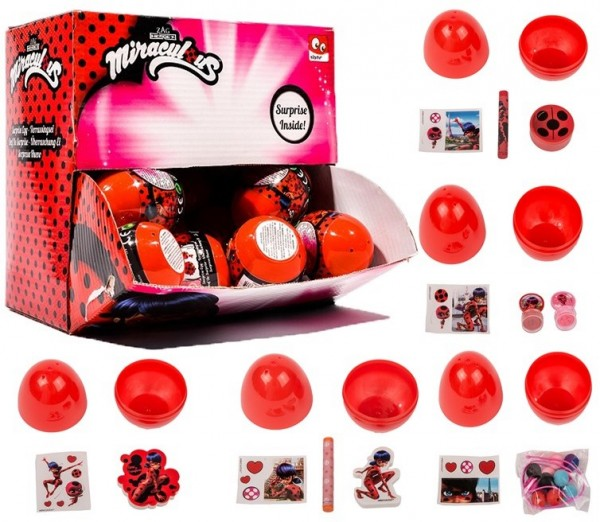 Miraculous Surprise Egg Mystery Egg Sammel-Ei Ladybug