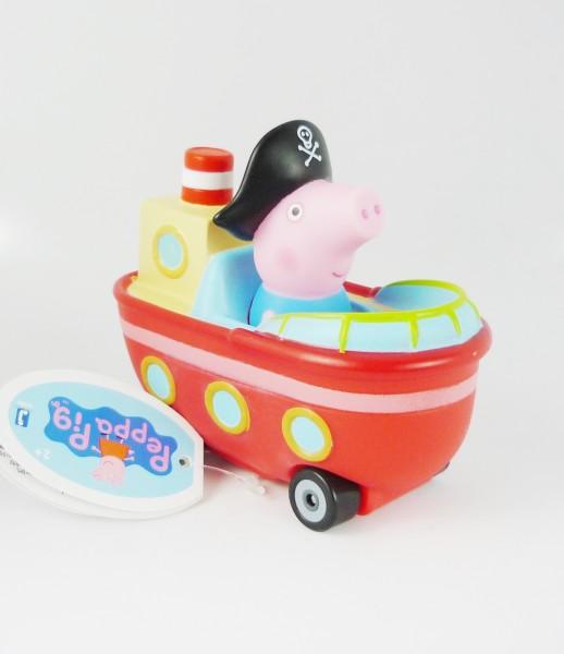 Peppa Pig Mini Flitzer Mini Flitzer Schorsch's Boot Jazwares 96589