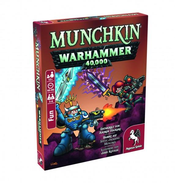 Munchkin Warhammer 40.000 Kartenspiel Pegasus Spiele 17015G