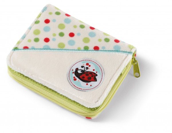 Nici 41516 Geldbeutel Classic Bear Marienkäfer Ladybug Plüsch Kindergeldbörse