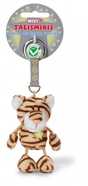 Nici 37390 Tiger mit Stern 7cm Talisminis Plüsch