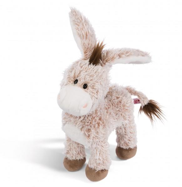 Nici 44937 Esel stehend ca 30cm Plüsch Kuscheltier Hello Spring