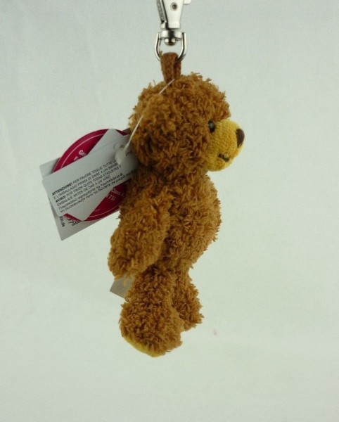 Schaffer 0209 Schlüsselanhänger Plüsch Teddy Bär Tom ca 11cm