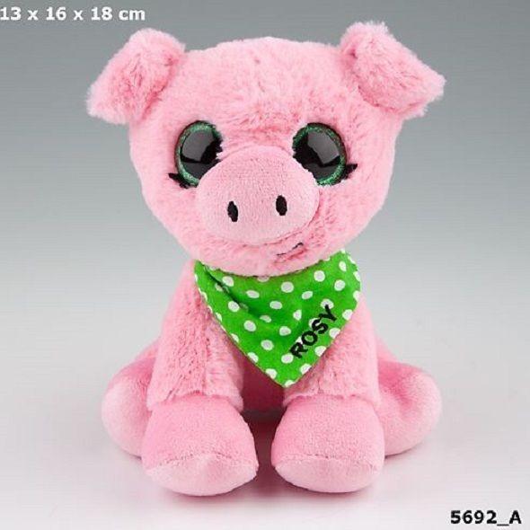 SNUKIS Depesche 5692 Rosy das Schwein Plüsch Kuscheltier 18cm