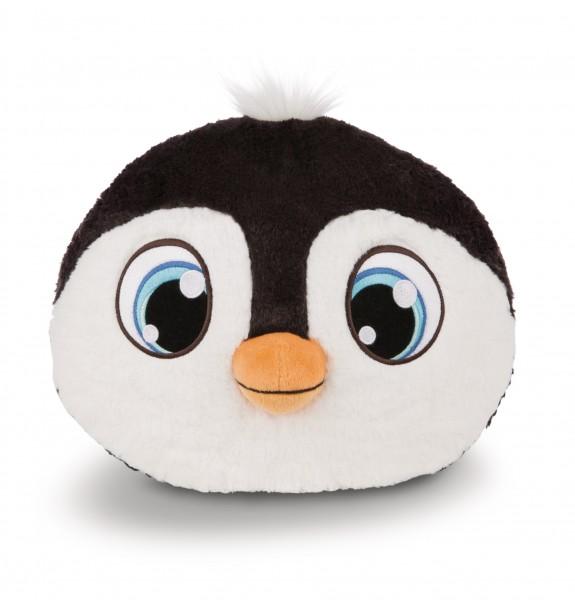 Nici 43955 Schlafmützen Kissen Kopf Pinguin Koosy figürlich Plüsch 31x26cm