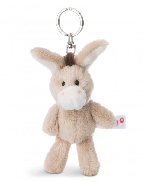 Nici 44930 Schlüsselanhänger Esel ca 10cm Plüsch Hello Spring