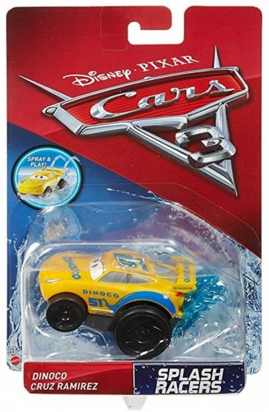 Disney Cars 3 Splash Racers Auto Dinoco Cruz Ramirez FGF75