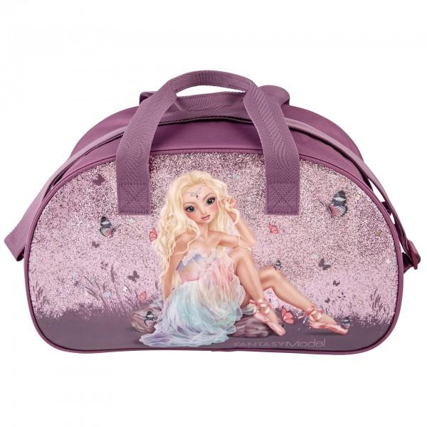 Depesche 10914 Fantasy Model Sporttasche Tragetasche Ballett Ballerina lila