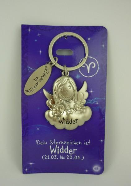 Depesche 7598 Schutzengel Sternzeichen Schlüsselanhänger 012 Widder