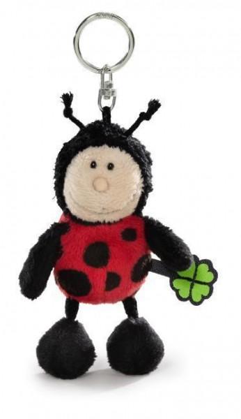 Nici 36859 Schlüsselanhänger Marienkäfer Ladybug Keychain Plüsch 10cm