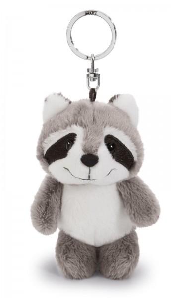 Nici 41133 Waschbär Rod Bean Bag Schlüsselanhänger 10cm Plüsch keychain racoon