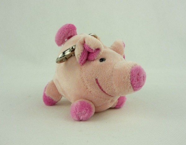 Schaffer 0189 Schlüsselanhänger Plüsch Schwein Loulou ca 10cm