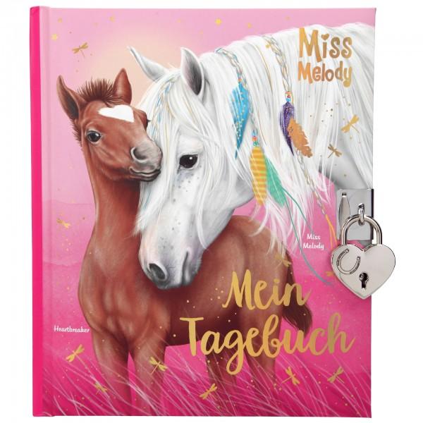 Depesche 11020 Pferd Miss Melody & Fohlen Heartbreaker Tagebuch mit Stickern