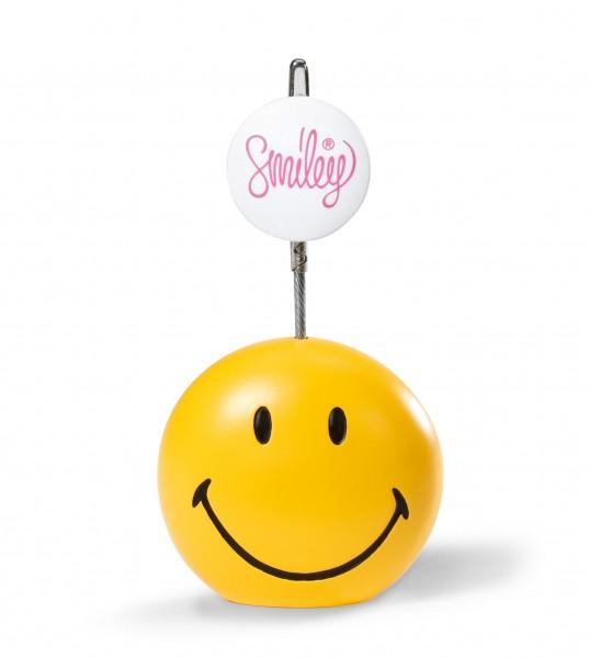 Nici 38182 Fotohalter Smiley gelb ø 5cm, H. 9,5cm